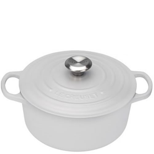 Cotton Signature Round Casserole 28cm with SS Knob