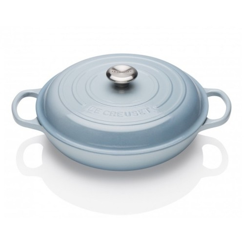 Coastal Blue Signature Shallow Casserole 30cm