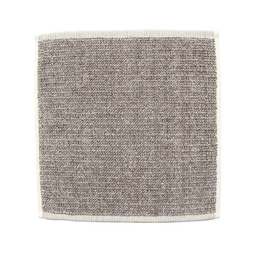 Beige Tweed Face Towel