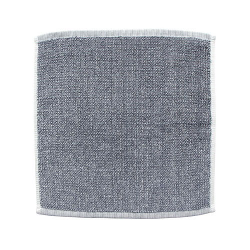 Grey Tweed Face Towel