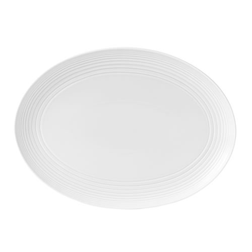 Gordon Ramsay Maze by Royal Doulton White Oval Platter 43cm