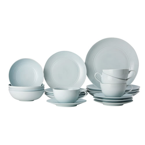 Gordon Ramsay Maze by Royal Doulton Blue 20 Piece Set