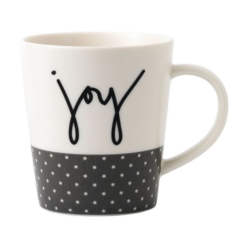 Joy Mug ED Ellen DeGeneres Crafted by Royal Doulton