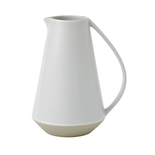 Brushed Glaze Soft White Jug