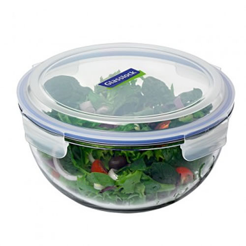 Glasslock Mixing Storage Bowl Tempered Glass 4L