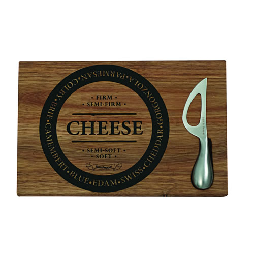 Fromage Wooden Cheese Board with Knife