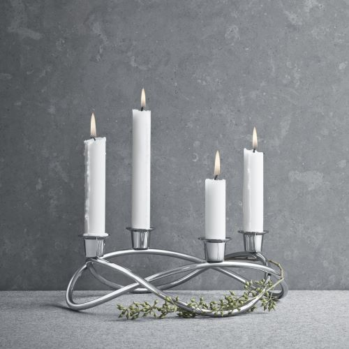 SEASON Grand Candleholder Stainless Steal