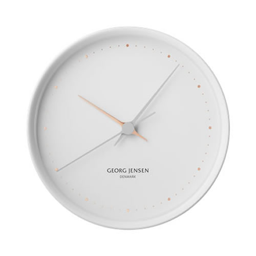 KOPPEL 22 cm Wall Clock White