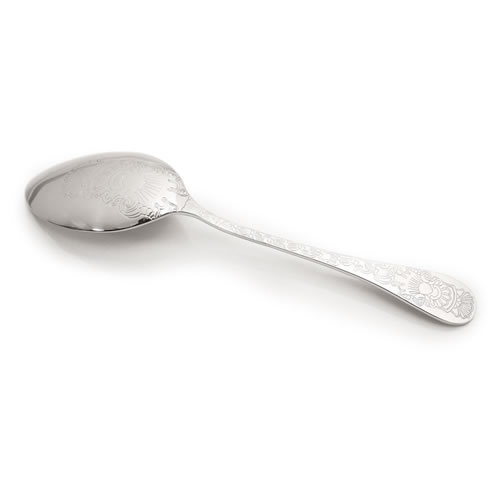 Santamarta Serving Spoon in Silver