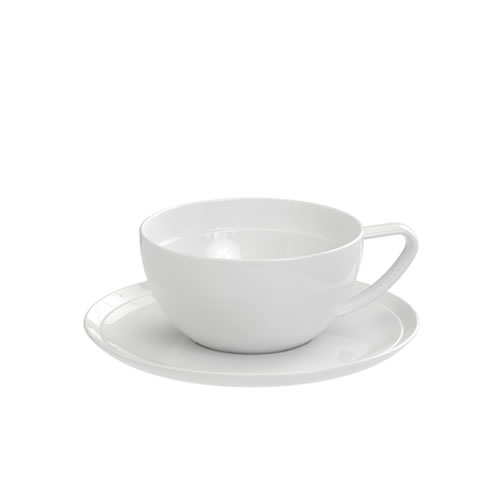 Edge Tea Cup and Saucer