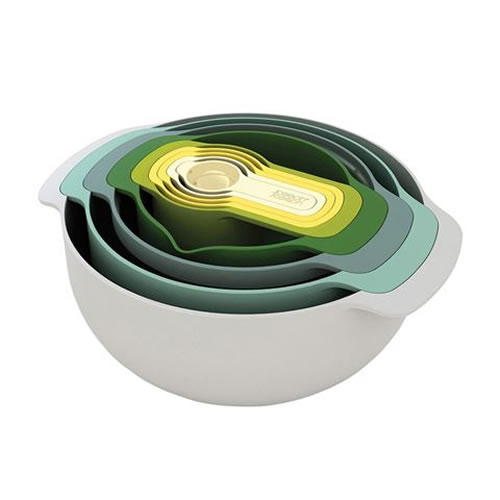 Joseph Joseph Nest 9 Plus Opal Food Preparation Set