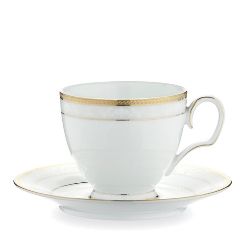 Hampshire Gold Tea Cup & Saucer Set