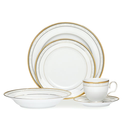 Hampshire Gold 20 Piece Dinner Set