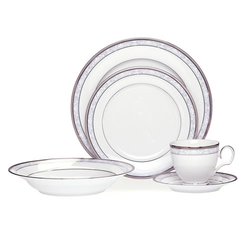 Hampshire Platinum 20 Piece Dinner Set