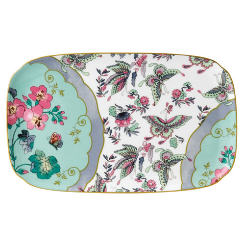 Wedgwood Butterfly Bloom Sandwich Tray 25cm