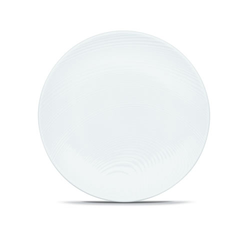 White on White Dune Salad Plates