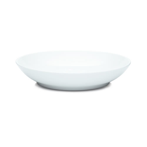 White on White Dune Pasta Bowl Set