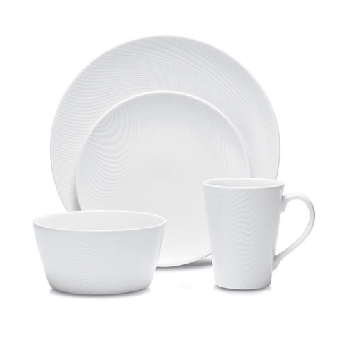 White on White Dune 16 Piece Set