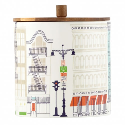 About Town Large Canister 16.5cm