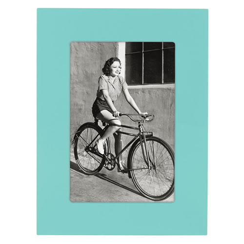 Garden Drive Frame 4x6 Turquoise