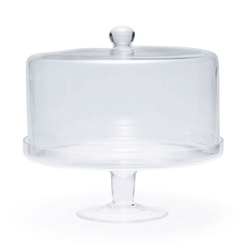 SALUT Cake Stand with Dome