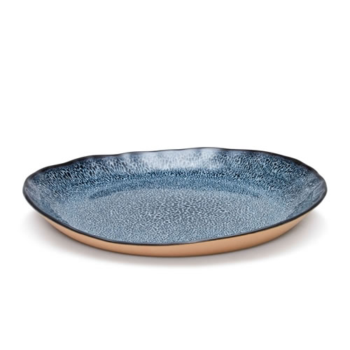 NOMAD Side Plate Blue
