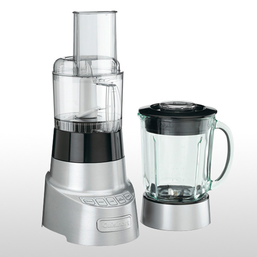 Deluxe Duet Blender and Food Processor in Brushed Die Cast