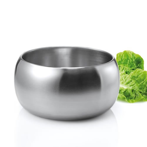 Salad Bowl in Stainless Steel