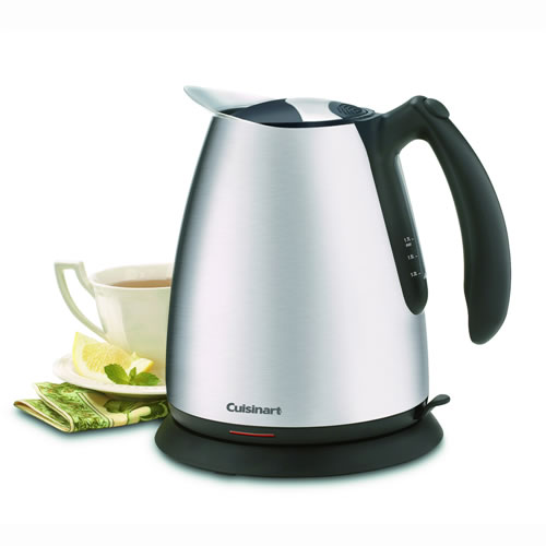 Brushed Stainless Steel Kettle 1.7L