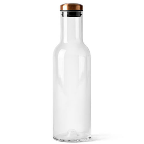 Bottle Carafe 1 L with Copper Lid