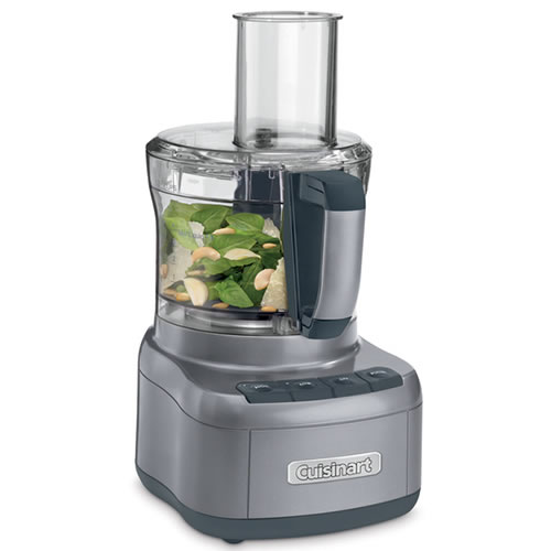 8 Cup Food Processor Gun Metal Grey
