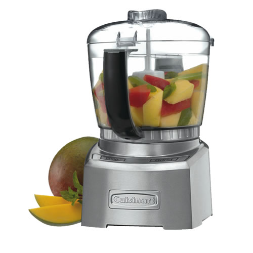 Elite Brushed Stainless Steel Mini Chopper