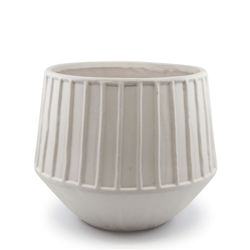 Refine Planter in Grey