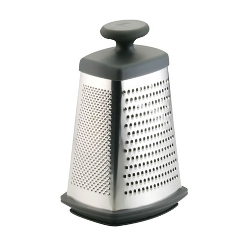 Anolon 4 Way Box Grater with Container