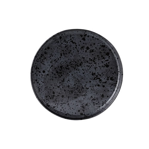 Merchant Charcoal Small Round Plate