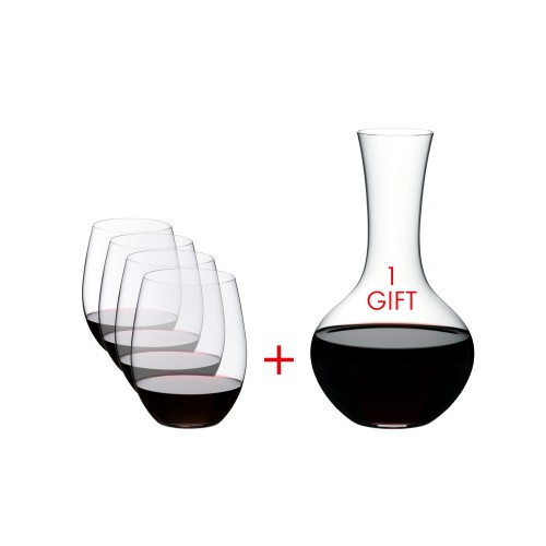 O Tumbler and Decanter