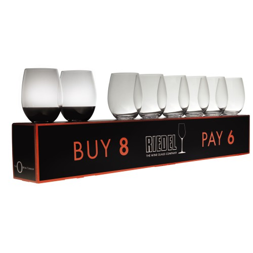 O Range Stemless Cabernet Merlot Value Pack Buy 6 get 8