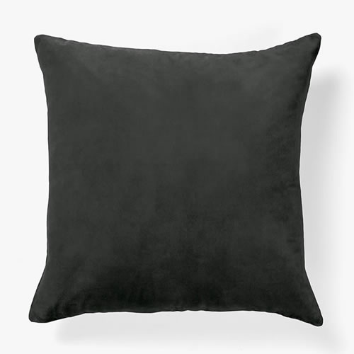 Luxury Velvet Cushion in Smoke
