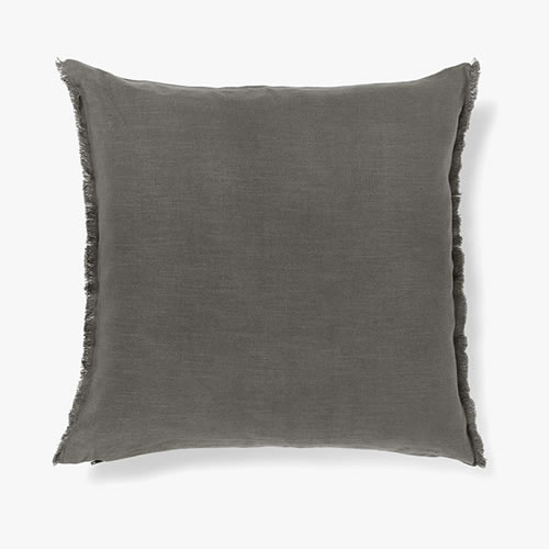 Fringe Flint Cushion
