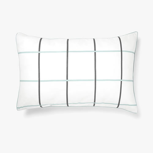 Verve Glacier Standard Single Pillowcase