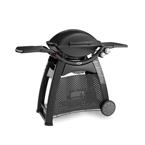 Weber Q3100 LP Family BBQ Black