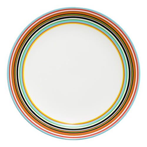 Origo Entree Plate 20cm in Orange