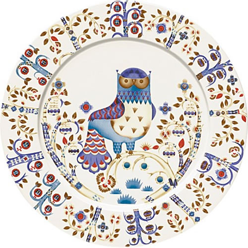Taika Large Dinner or Charger Plate 30cm in White