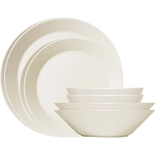 Teema White 16 Piece Dinner Set