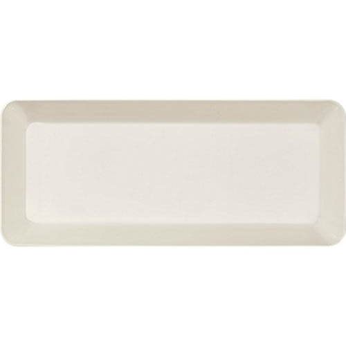 Teema White 16x37cm Platter in White