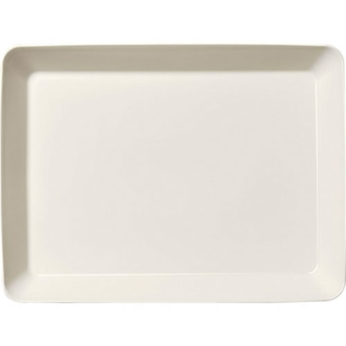 Teema White 24x32cm Platter in White