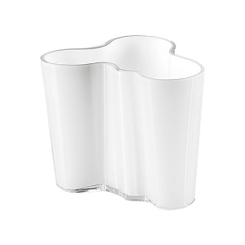 Alvar Aalto Collection Vase 95mm in Opal White