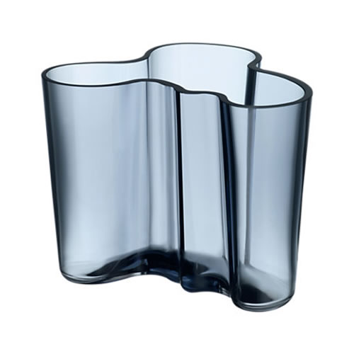 Alvar Aalto Collection Vase 120 mm in Rain