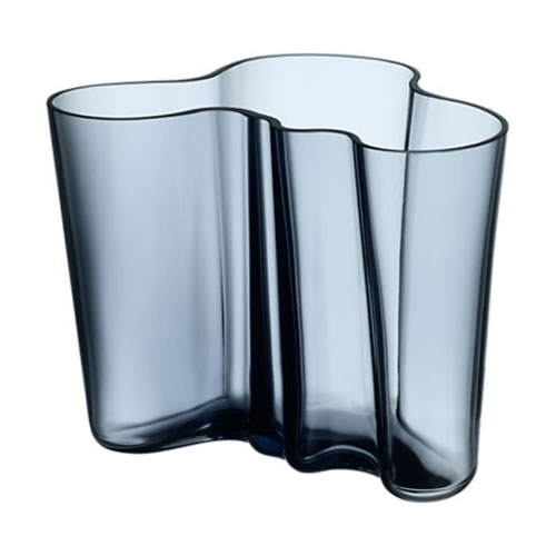 Alvar Aalto Collection Vase 160 mm in Rain
