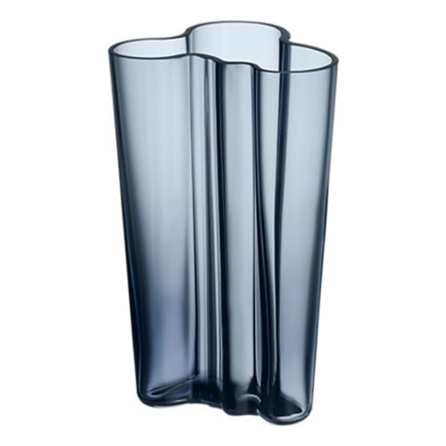 Alvar Aalto Collection Vase 201 mm in Rain